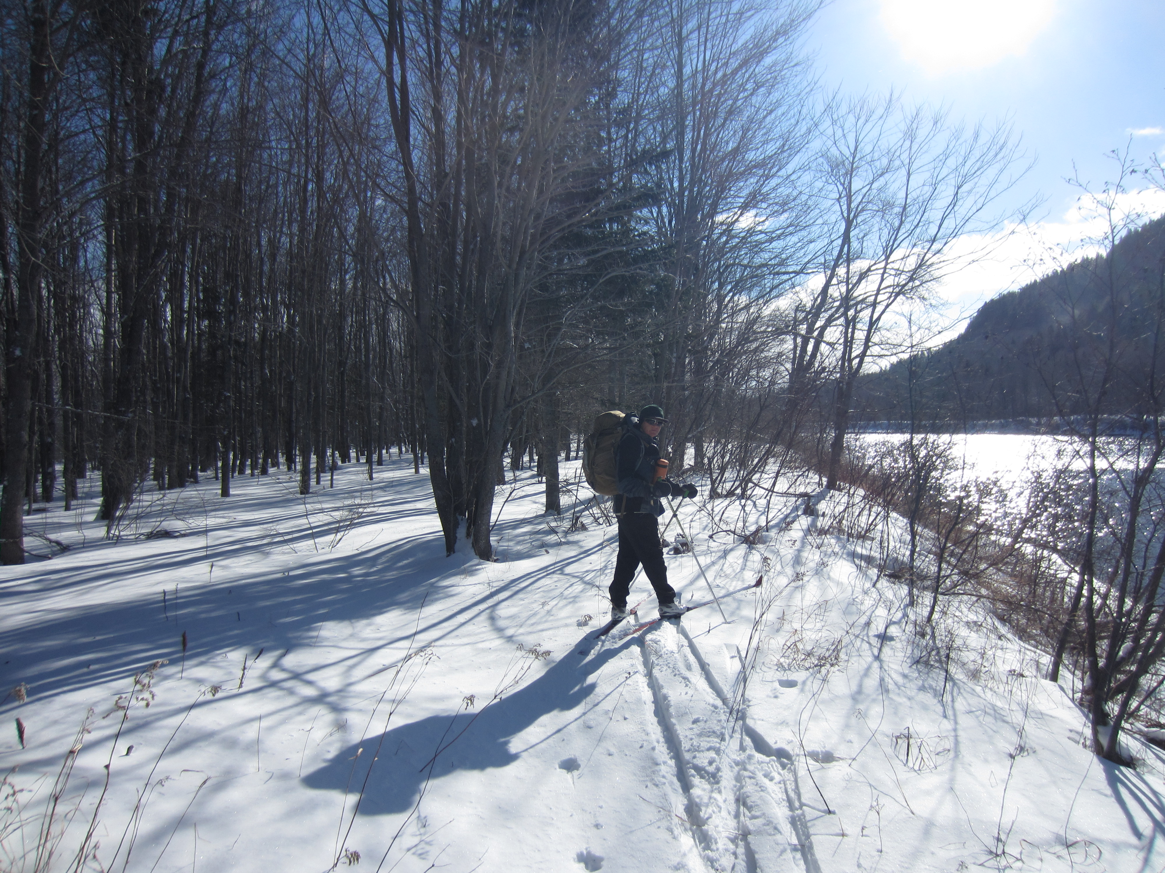 Ski de fond de refuge en refuge «grand luxe» au Maine